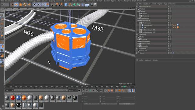 Technische 3d Animationen Und 3d Visualisierungen Animations Maschine De